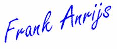 Handtekening Frank Anrijs