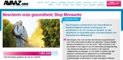 Petitie: Bescherm Onze gezondheid, Stop Monsanto