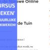 De Inschrijvingen Voor Online Cursus Groenten Kweken Gaan Open