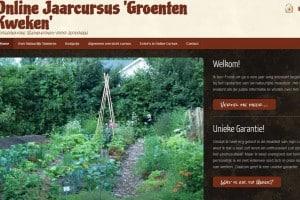 Online Jaarcursus 'Groenten Kweken'