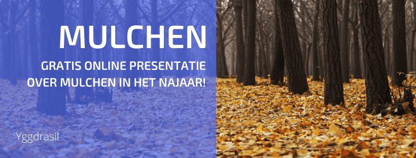 Gratis Webinar over Mulchen in het Najaar!