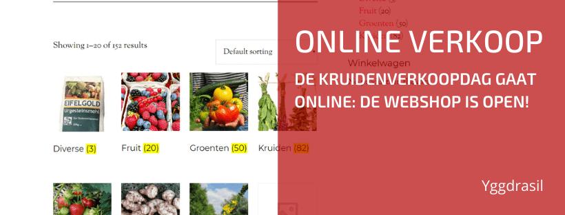 De Online Plantenwinkel is Open voor Bezoek!