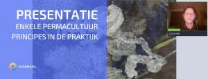 Opnames Webinar Permacultuurprincipes Staat Klaar